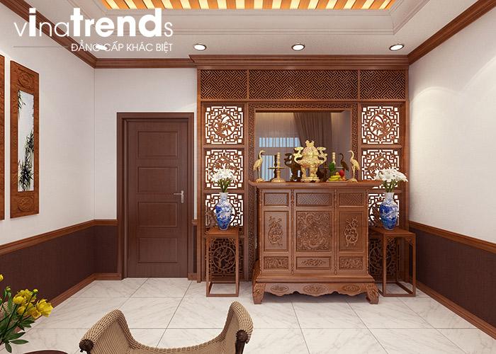 phong tho ong ba Mẫu nhà ống mặt tiền 4m 5 tầng kiểu hiện đại nội thất đầu tư xịn ở Hải Dương