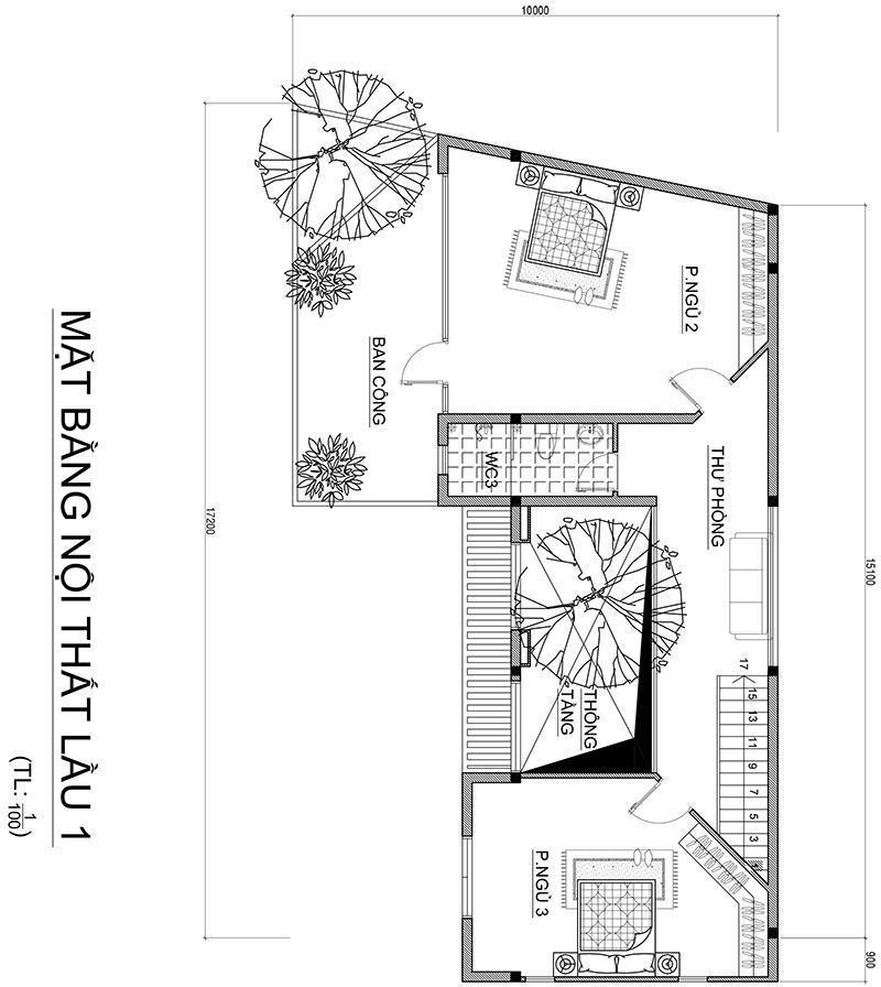 cong nang biet thu 2 tang hien dai 170m2 1 Mẫu nhà biệt thự 2 tầng hiện đại 170m2 ở Đà Lạt dành cho chủ nhân biết hưởng thụ