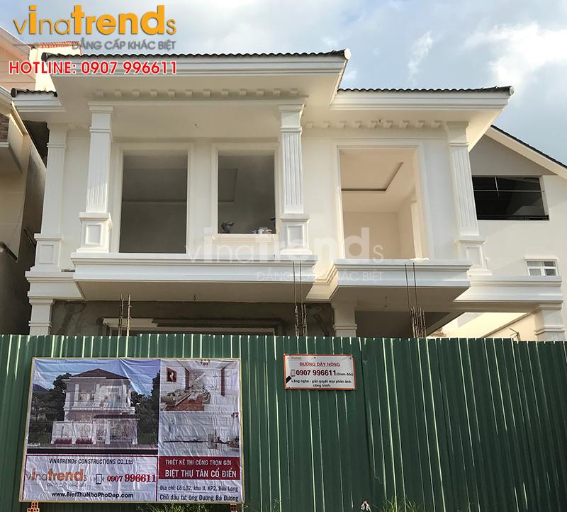 cong ty xay nha 2 tang dep o bien hoa 12 mẫu nhà biệt thự đẹp 1 2 3 4 tầng ở Biên Hòa sẽ thi công năm 2018 – 2019