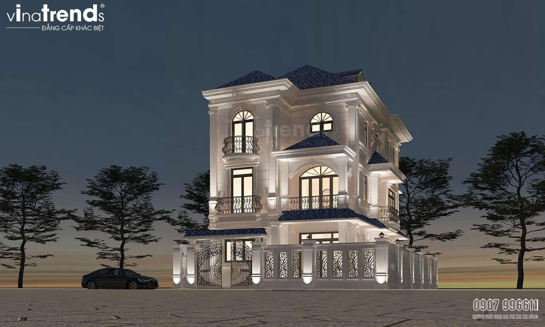 mau biet thu 3 tang tan co dien dep nhat bien hoa nhu cung dien do cong ty xay dung dong nai vinatrends thiet ke 4 VinaTrends   Công ty xây dựng tại Đồng Nai hơn 499 công trình thiết kế xây nhà trọn gói trên toàn Việt Nam