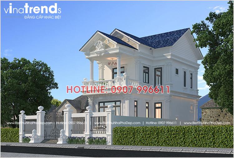 mau biet thu dep 2 tang co dien o bien hoa co 3 phong ngu 12 mẫu nhà biệt thự đẹp 1 2 3 4 tầng ở Biên Hòa sẽ thi công năm 2018 – 2019