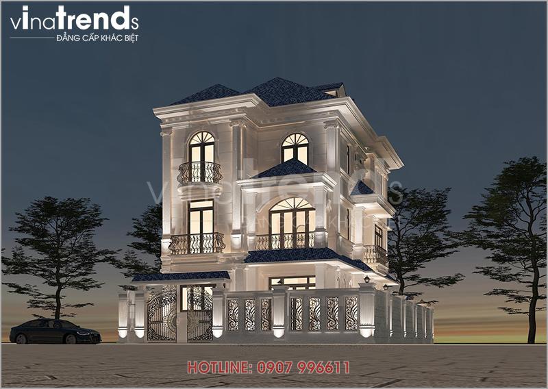 mau biet thu dep 3 tang tan co dien o bien hoa nha chi hai anh 1 12 mẫu nhà biệt thự đẹp 1 2 3 4 tầng ở Biên Hòa sẽ thi công năm 2018 – 2019