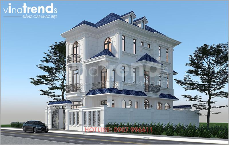 mau biet thu dep 3 tang tan co dien o bien hoa nha chi hai anh 3 12 mẫu nhà biệt thự đẹp 1 2 3 4 tầng ở Biên Hòa sẽ thi công năm 2018 – 2019