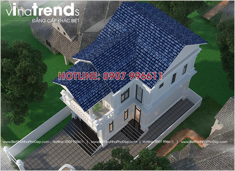mau biet thu dep nhat 2 tang co dien o bien hoa 12 mẫu nhà biệt thự đẹp 1 2 3 4 tầng ở Biên Hòa sẽ thi công năm 2018 – 2019