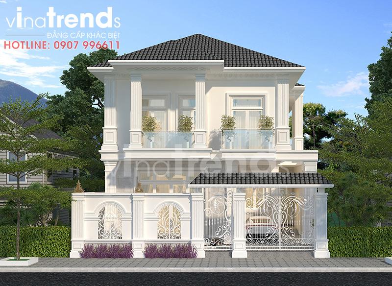 mau nha 2 tang dep nhat bien hoa 12 mẫu nhà biệt thự đẹp 1 2 3 4 tầng ở Biên Hòa sẽ thi công năm 2018 – 2019