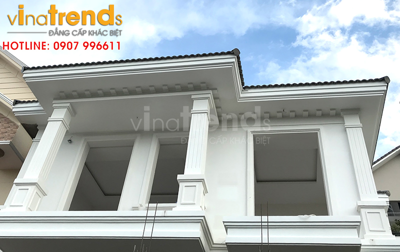 mau nha 2 tang dep o bien hoa thiết kế xây nhà đẹp biên hòa   đồng nai chuẩn thi công sát dự toán tại Vinatrends