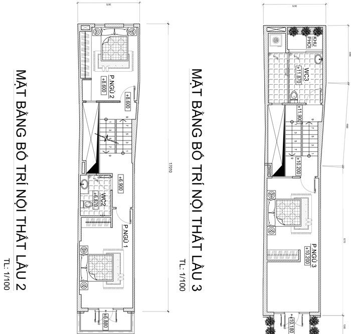 mau nha 4 tang vua o vua kinh doanh 58m2 o bien hoa 1 Mẫu nhà 4 tầng cổ điển 48m2 vừa ở vừa kinh doanh tiện nghi dù mặt tiền gần 3,4m