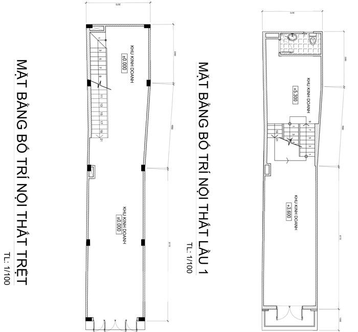 mau nha 4 tang vua o vua kinh doanh 58m2 o bien hoa 2 Mẫu nhà 4 tầng cổ điển 48m2 vừa ở vừa kinh doanh tiện nghi dù mặt tiền gần 3,4m