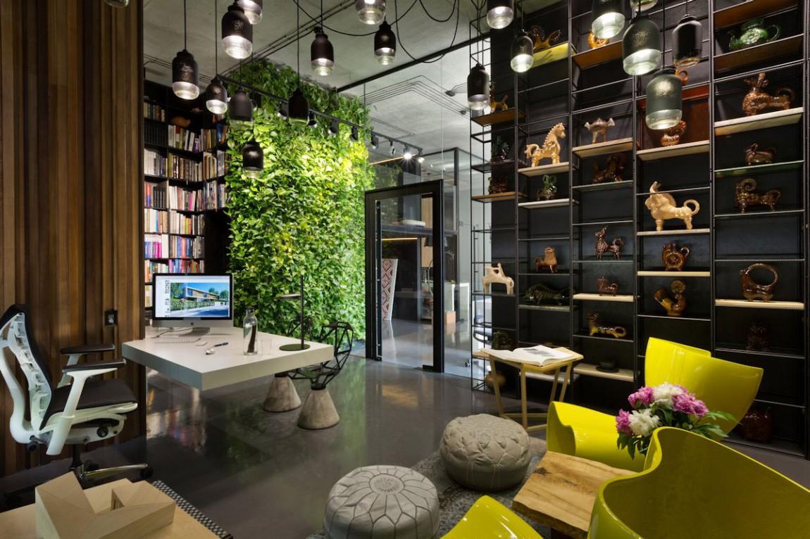 phong khach noi that nhiet doi Mẫu nhà biệt thự 2 tầng hiện đại 170m2 ở Đà Lạt dành cho chủ nhân biết hưởng thụ