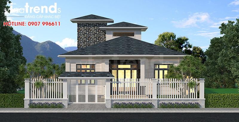 biet thu 1 tang 3 phong ngu chau au o bien hoa dep 6 12 mẫu nhà biệt thự đẹp 1 2 3 4 tầng ở Biên Hòa sẽ thi công năm 2018 – 2019