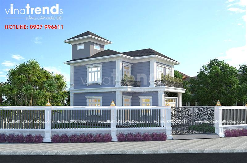 mau nha 2 tang chu l dep duoi 100m2 o bien hoa vinatrends thiet ke 1 12 mẫu nhà biệt thự đẹp 1 2 3 4 tầng ở Biên Hòa sẽ thi công năm 2018 – 2019
