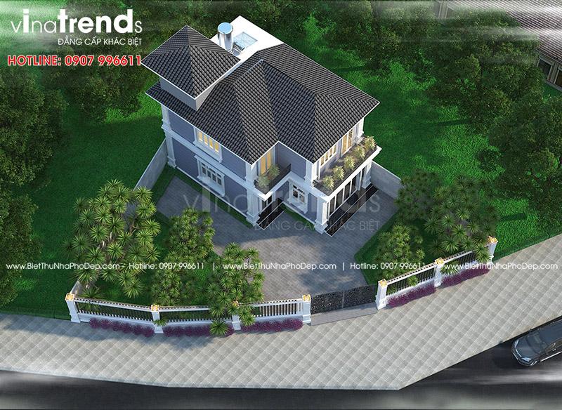 mau nha 2 tang chu l dep duoi 100m2 o bien hoa vinatrends thiet ke 4 12 mẫu nhà biệt thự đẹp 1 2 3 4 tầng ở Biên Hòa sẽ thi công năm 2018 – 2019