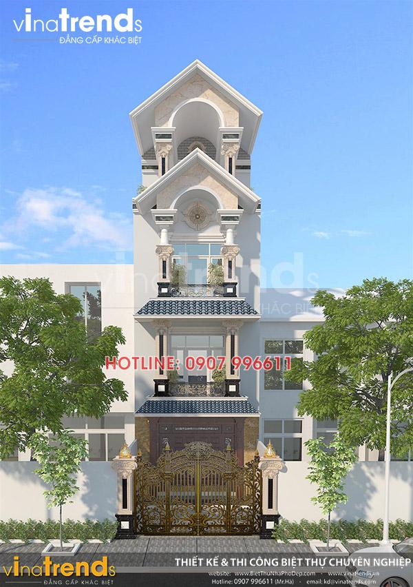 mau nha 3 tang co dien mat tien 5m 12 mẫu nhà biệt thự đẹp 1 2 3 4 tầng ở Biên Hòa sẽ thi công năm 2018 – 2019