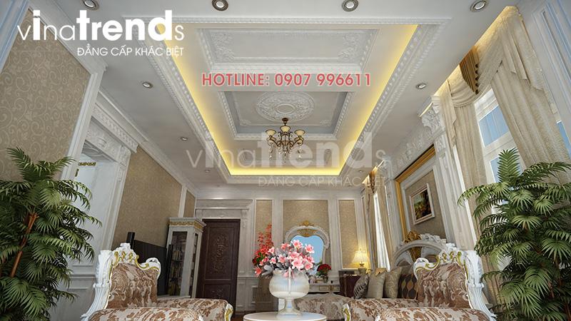 noi that phong ngu co dien Mẫu nhà 3 tầng cổ điển mặt tiền 5x23m được 60% khách hàng HCM lựa chọn