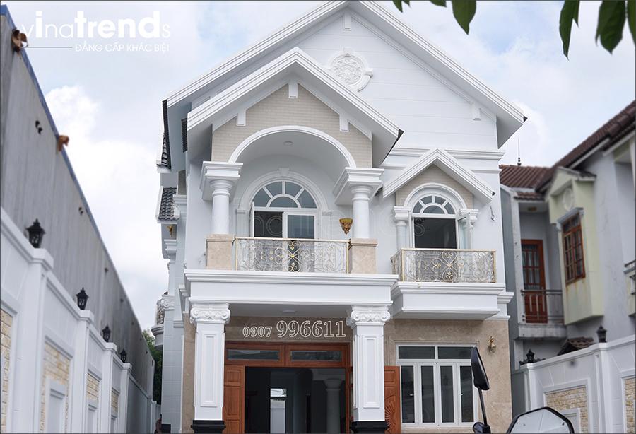 xay biet thu 2 tang dep nhat vinatrends phu trach 3 VinaTrends   Công ty xây dựng tại Đồng Nai hơn 499 công trình thiết kế xây nhà trọn gói trên toàn Việt Nam