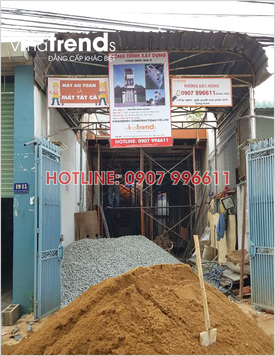 xay nha 3 tang hien dai o bien hoa nha anh Hoang 3 Tối ưu mẫu nhà ống rộng 3 5m mặt tiền 3 phòng ngủ ở Biên Hòa đã xây xong