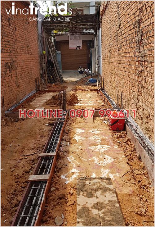 xay nha 3 tang hien dai o bien hoa nha anh Hoang 6 Tối ưu mẫu nhà ống rộng 3 5m mặt tiền 3 phòng ngủ ở Biên Hòa đã xây xong