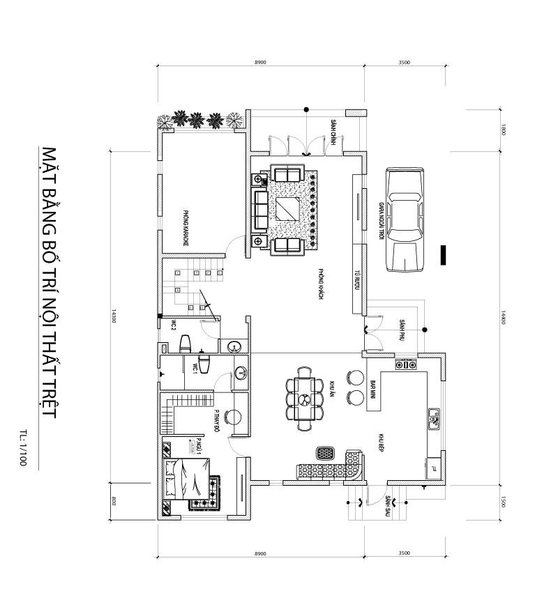 cong nang tang tret mau biet thu 2 tang hien dai co san vuon Mẫu biệt thự 2 tầng hiện đại 12,5x18m ở Cam Ranh là điểm dừng của 1 resort mang tên Hạnh Phúc