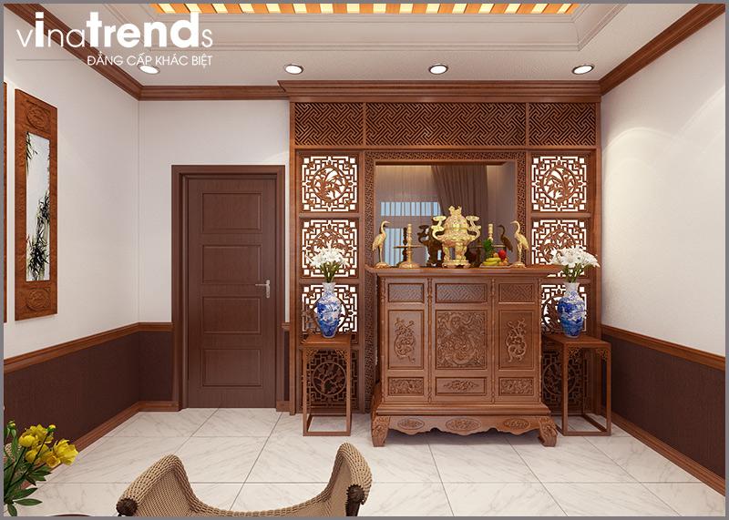 phong tho nha 1 tret 1 lau Mẫu nhà 2 tầng đẹp 5x15m nhờ kiểu mái ngói lệch Đáng Xem ở Biên Hòa