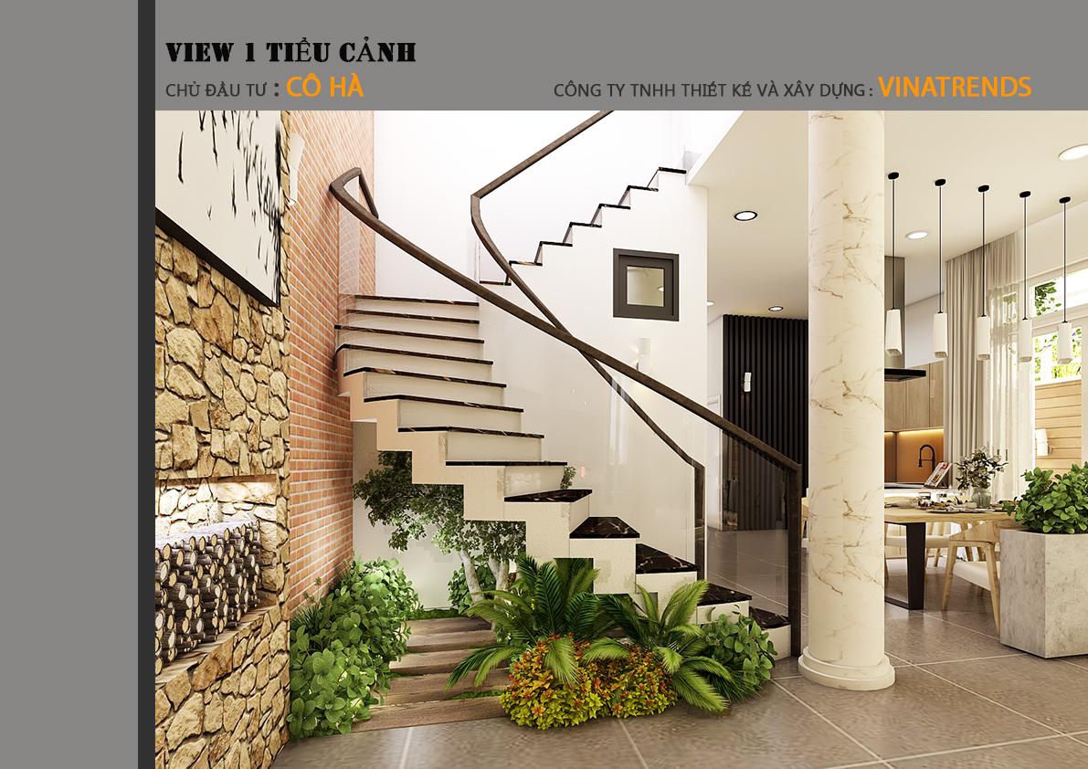 07 Mẫu biệt thự 2 tầng 1 sân thượng 7,8x17m hiện đại bạc ngàn cây xanh thanh lọc căn nhà