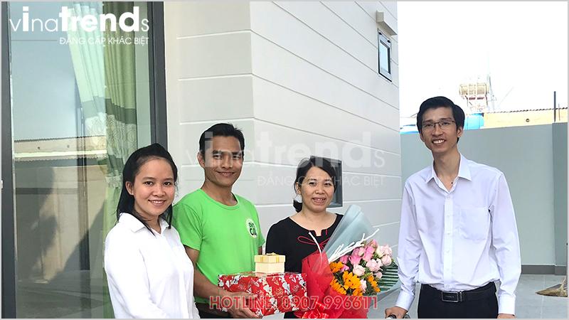 cong ty xay dung uy tin nhat bien hoa la vinatrends 2 Mẫu nhà 1 tầng hiện đại 9x18m xây xong ở Biên Hòa được chủ nhà viết tâm thư