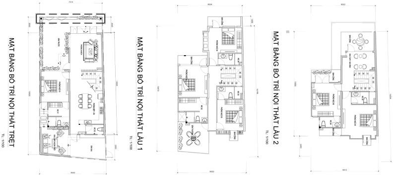 mat bang mau biet thu 3 tang nha a luan Mẫu biệt thự 3 tầng hiện đại 8,5x18m mát rượi nhờ thủ thuật đón gió ở Biên Hòa