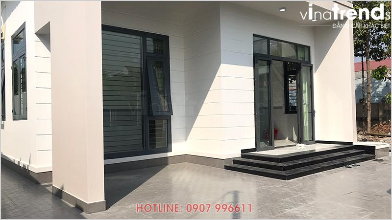 mau nha 1 tang don gian dep o bien hoa 2 Mẫu nhà 1 tầng hiện đại 9x18m xây xong ở Biên Hòa được chủ nhà viết tâm thư