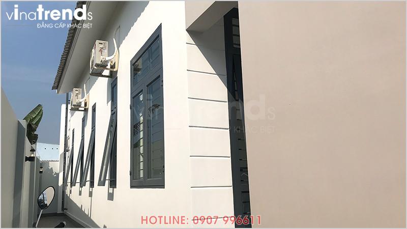 mau nha 1 tang don gian dep o bien hoa 3 Mẫu nhà 1 tầng hiện đại 9x18m xây xong ở Biên Hòa được chủ nhà viết tâm thư