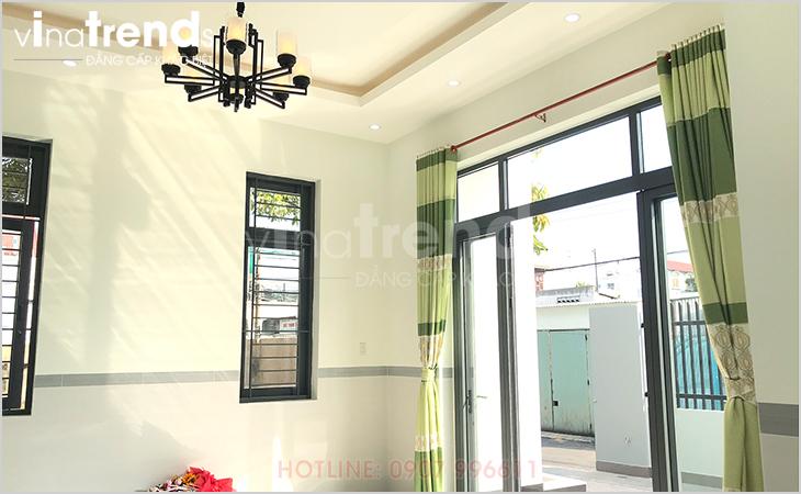 mau nha 1 tang hien dai 165m2 o bien hoa xay xong 1 Mẫu nhà 1 tầng hiện đại 9x18m xây xong ở Biên Hòa được chủ nhà viết tâm thư