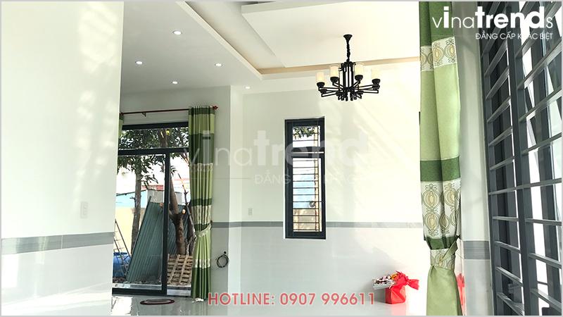 mau nha 1 tang hien dai 165m2 o bien hoa xay xong 3 Mẫu nhà 1 tầng hiện đại 9x18m xây xong ở Biên Hòa được chủ nhà viết tâm thư