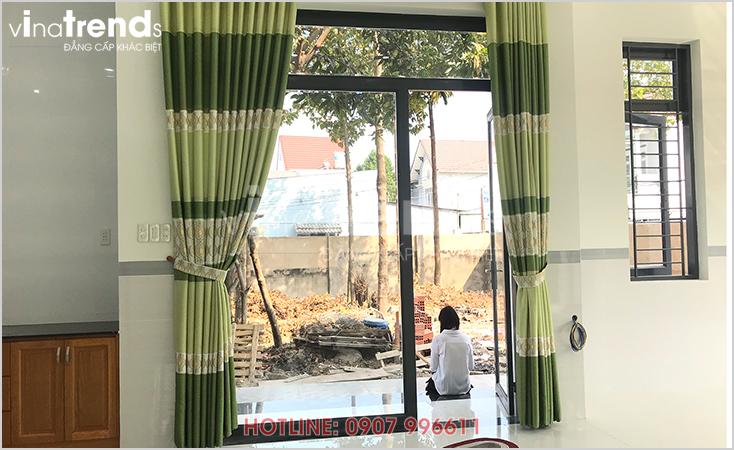 mau nha 1 tang hien dai 165m2 o bien hoa xay xong 5 Mẫu nhà 1 tầng hiện đại 9x18m xây xong ở Biên Hòa được chủ nhà viết tâm thư