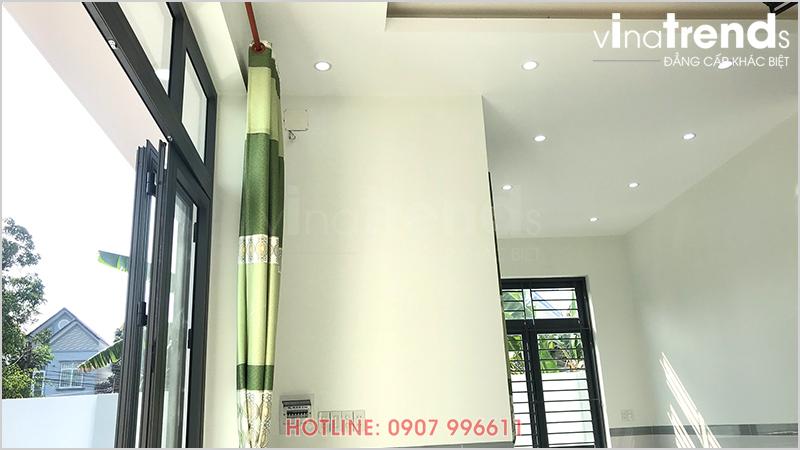 mau nha 1 tang hien dai 165m2 o bien hoa xay xong 7 Mẫu nhà 1 tầng hiện đại 9x18m xây xong ở Biên Hòa được chủ nhà viết tâm thư