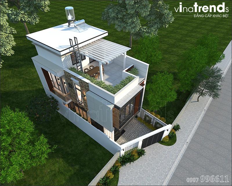 mau nha 2 tang 1 tum 3 phong ngu 7m ngang 12m o bien hoa 1 VinaTrends   Công ty xây dựng tại Đồng Nai hơn 499 công trình thiết kế xây nhà trọn gói trên toàn Việt Nam