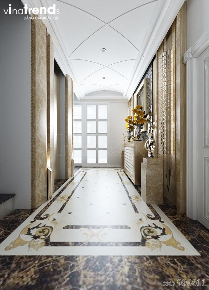 noi that biet thu co dien dep 1 Biệt thự cổ điển châu Âu 3 tầng mới toanh vẻn vẹn 1500m2 của đại gia miền Trung ở Bình Phước