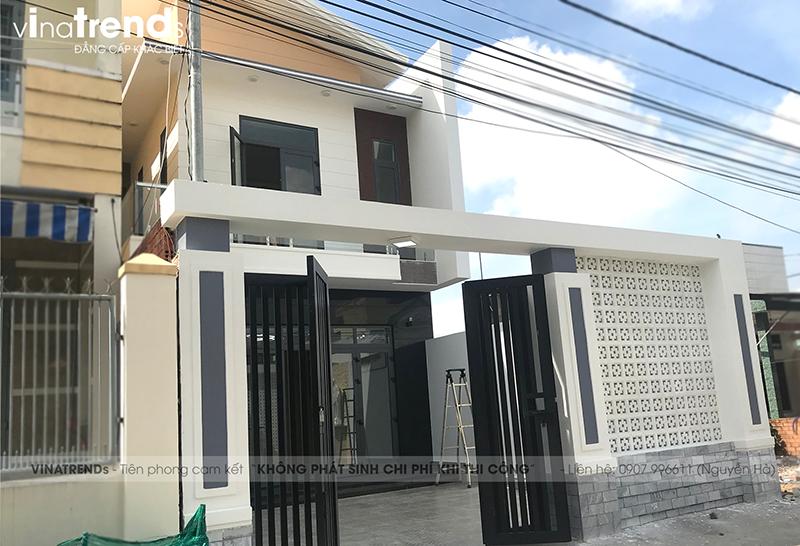 mau nha 2 tang don gian dep duoi 100m2 4 VinaTrends   Công ty xây dựng tại Đồng Nai hơn 499 công trình thiết kế xây nhà trọn gói trên toàn Việt Nam