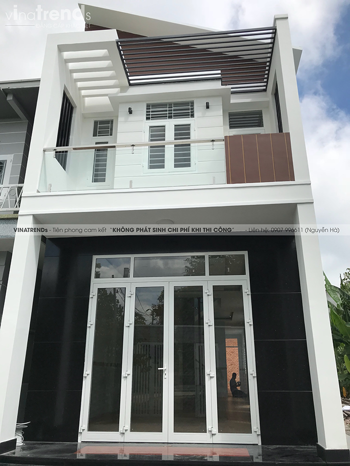 mau nha 2 tang don gian dep duoi 100m2 52 VinaTrends   Công ty xây dựng tại Đồng Nai hơn 499 công trình thiết kế xây nhà trọn gói trên toàn Việt Nam