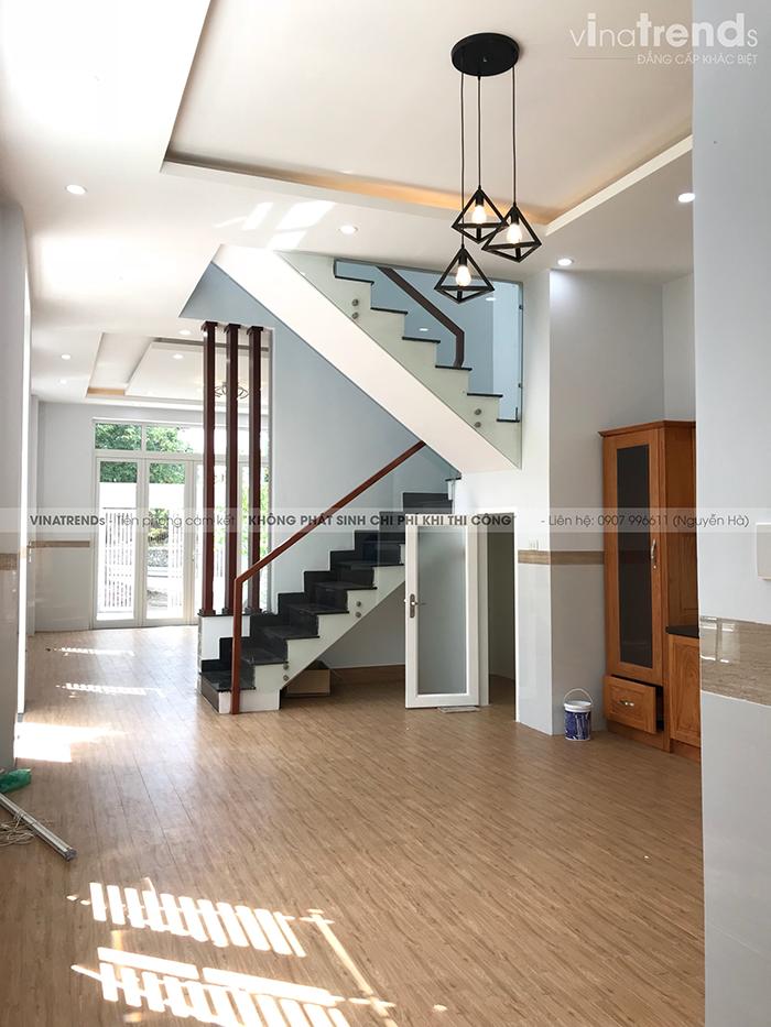 mau nha 2 tang don gian dep duoi 100m2 55 VinaTrends   Công ty xây dựng tại Đồng Nai hơn 499 công trình thiết kế xây nhà trọn gói trên toàn Việt Nam