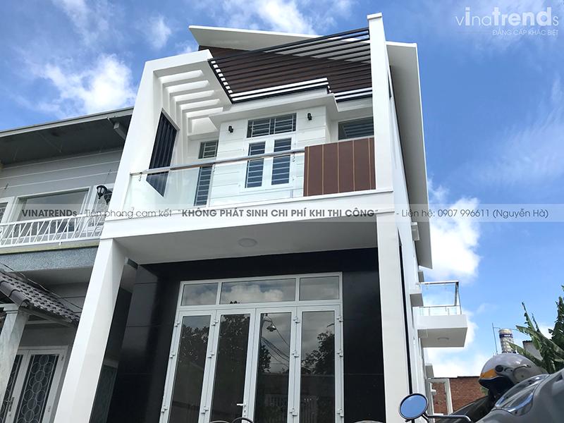 mau nha 2 tang don gian dep duoi 100m2 59 VinaTrends   Công ty xây dựng tại Đồng Nai hơn 499 công trình thiết kế xây nhà trọn gói trên toàn Việt Nam