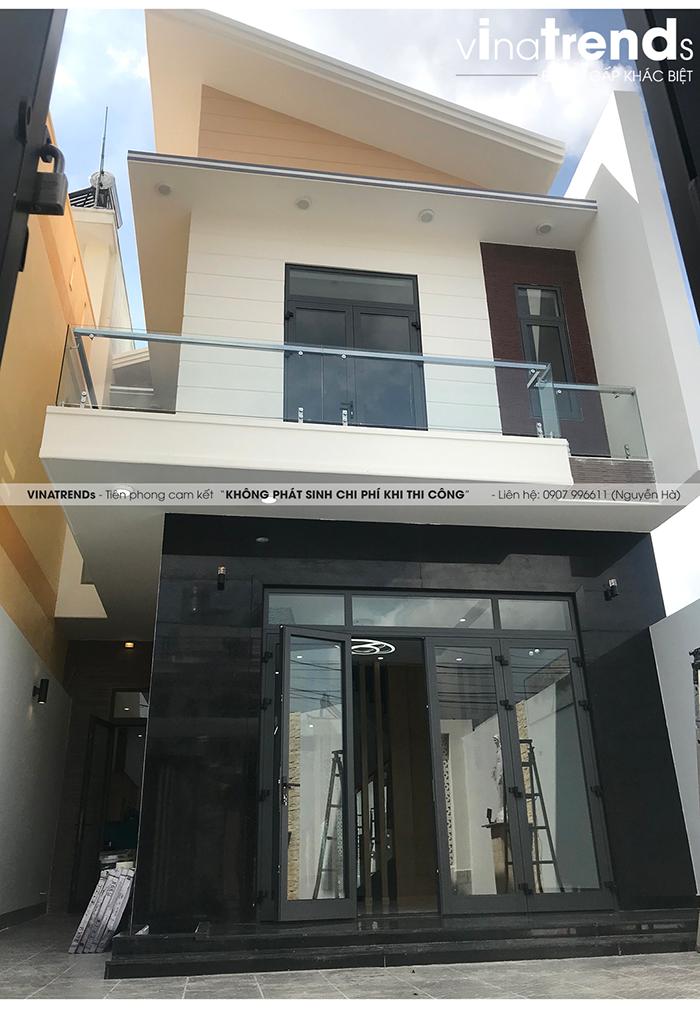 mau nha 2 tang don gian dep duoi 100m2 8 VinaTrends   Công ty xây dựng tại Đồng Nai hơn 499 công trình thiết kế xây nhà trọn gói trên toàn Việt Nam