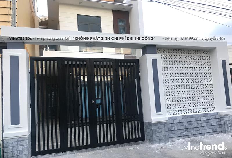 mau nha 2 tang don gian dep duoi 100m2 9 VinaTrends   Công ty xây dựng tại Đồng Nai hơn 499 công trình thiết kế xây nhà trọn gói trên toàn Việt Nam