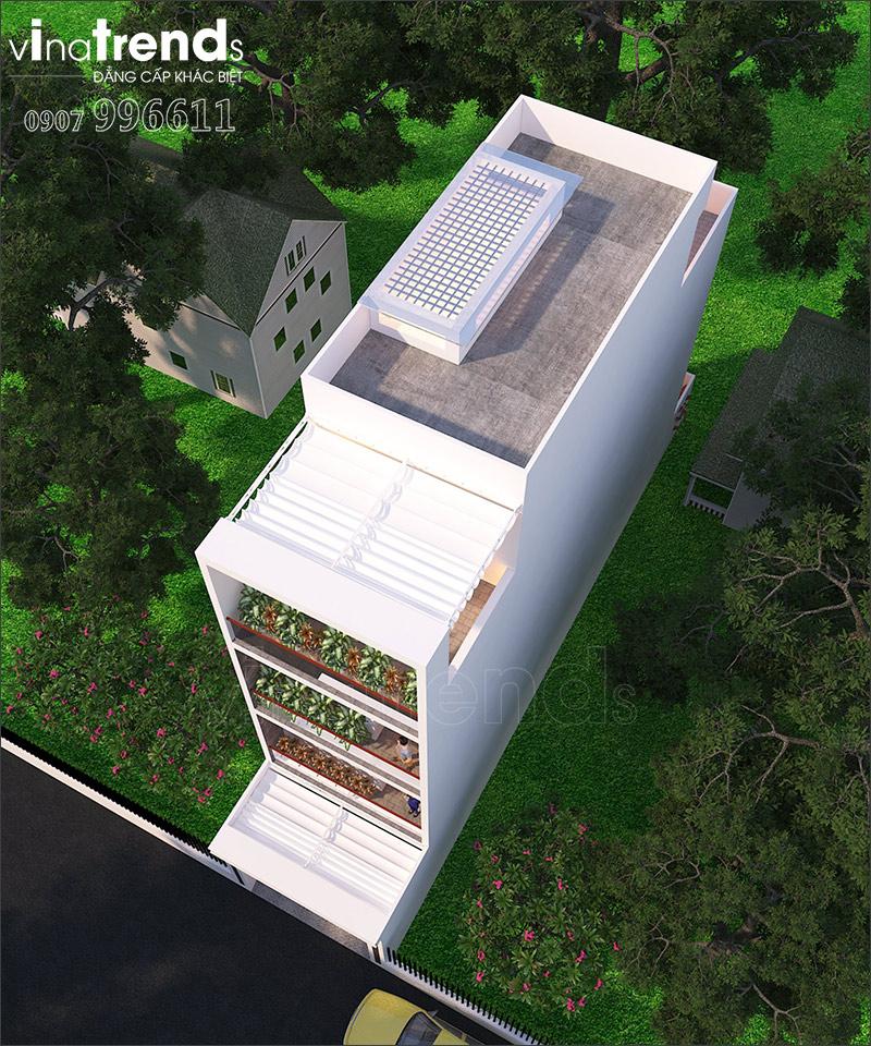 nha 4 tang hien dai mat tien 7m ngang 14 o bien hoa vinatrends thiet ke 8 Nhà 4 tầng hiện đại 5x14,5m bố trí 2 lầu cho thuê ở trung tâm Biên Hòa