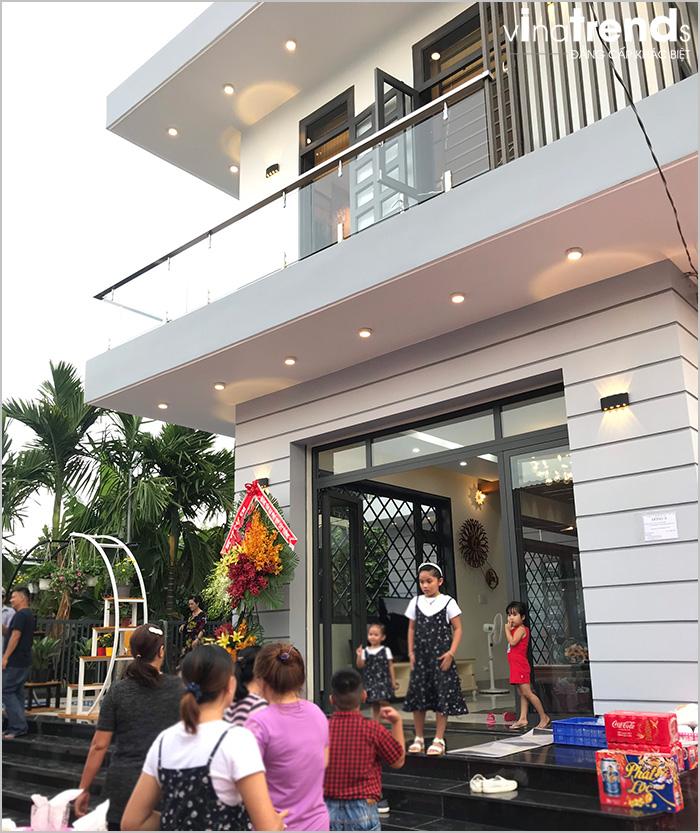 biet thu 2 tang mini dep 15m dai 20m do vinatrends thiet ke thi cong tron goi khong phat sinh 25 VinaTrends   Công ty xây dựng tại Đồng Nai hơn 499 công trình thiết kế xây nhà trọn gói trên toàn Việt Nam