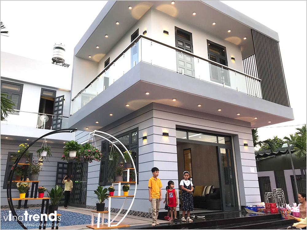 biet thu 2 tang mini dep 15m dai 20m do vinatrends thiet ke thi cong tron goi khong phat sinh 28 VinaTrends   Công ty xây dựng tại Đồng Nai hơn 499 công trình thiết kế xây nhà trọn gói trên toàn Việt Nam