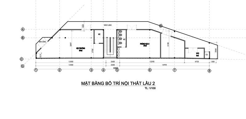 mau truong mam non 3 tang dep o bien hoa 2 Bản vẽ mẫu thiết kế trường mầm non tư thục Đại Phát 3 tầng hơn 200m2   niềm tự hào quê hương Biên Hòa