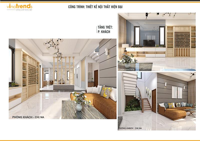 noi that biet thu hien dai dep 1 Mẫu biệt thự 2 tầng hiện đại 12,5x18m ở Cam Ranh là điểm dừng của 1 resort mang tên Hạnh Phúc
