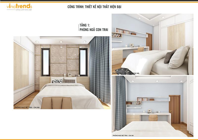 noi that biet thu hien dai dep 3 Mẫu biệt thự 2 tầng hiện đại 12,5x18m ở Cam Ranh là điểm dừng của 1 resort mang tên Hạnh Phúc