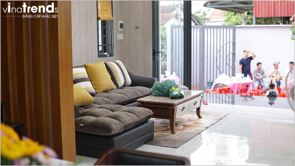 noi that phong khach biet thu 2 tang hien dai 15m dai 20m 2 Chuyên hoàn thiện nhà liền kề phần thô từ A đến Z (kiến trúc nội thất) cho khách bận rộn ở Đồng Nai