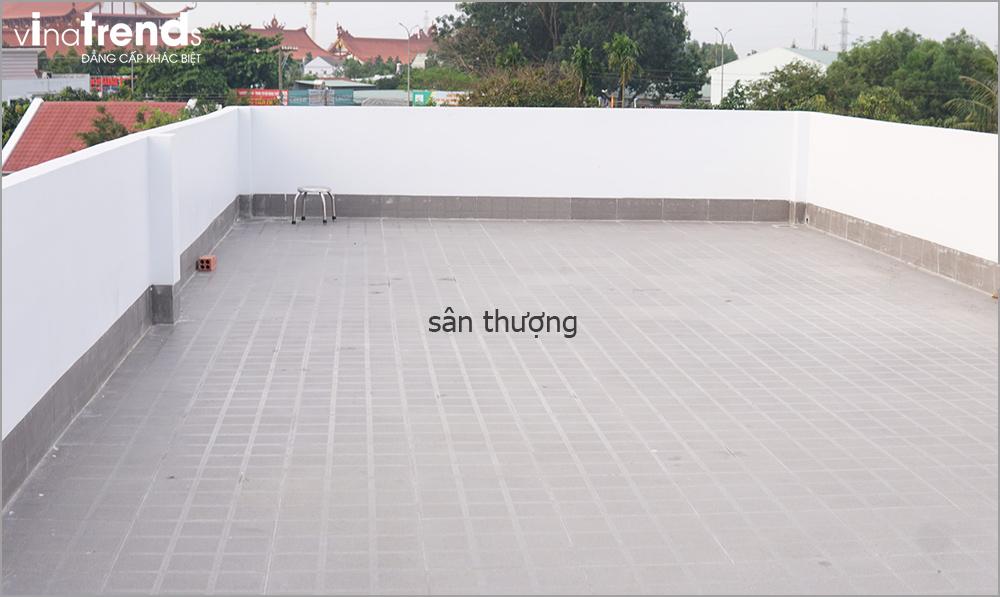 san thuong chong tham 1 [KHÔNG PHÁT SINH] xây nhà biệt thự 2 tầng ở Đồng Nai từ thiết kế đến hoàn công