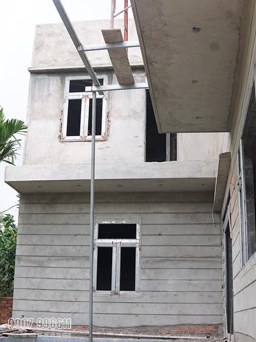 thi cong biet thu hien dai o bien hoa 1 1 Mẫu nhà 2 tầng 15x20m hiện đại có hồ bơi 3 phòng ngủ Là Lạ nhưng nhìn là muốn xây