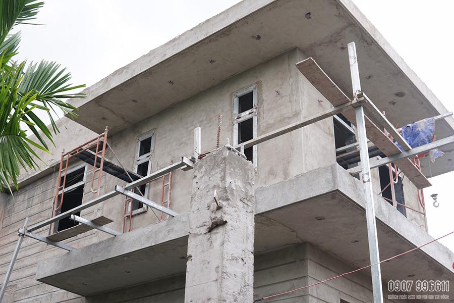 thi cong biet thu hien dai o bien hoa Mẫu nhà 2 tầng 15x20m hiện đại có hồ bơi 3 phòng ngủ Là Lạ nhưng nhìn là muốn xây